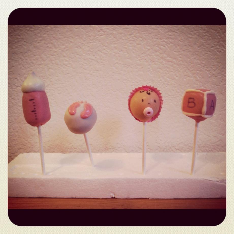 Cake Pop Decorations Baby Shower : vypassetti cake pops: Baby Shower