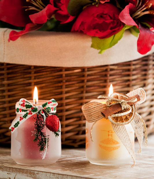 Inaiê Art´s: Reutilize vidros e faça linda decoração de Natal