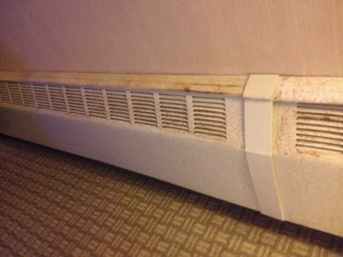 it would seem to me that baseboard heaters were never designed to be visually appealing this is why i developed the easy slipon baseboard heater cover