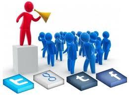 Iconos Sociales estáticos en la Parte Inferior del Blog