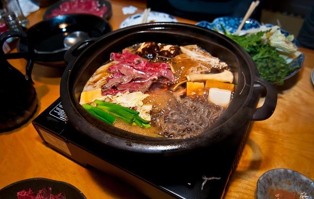 Sukiyaki: Japanese Beef Hot Pot