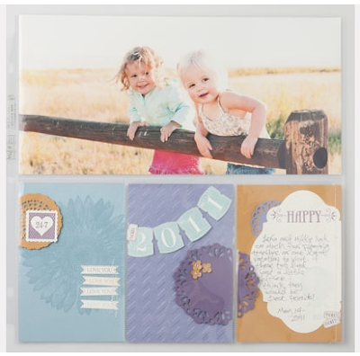 "12"" x 12"" Divided Page Protectors 127690 $5.95 http://jennsavstamps.stampinup.net"