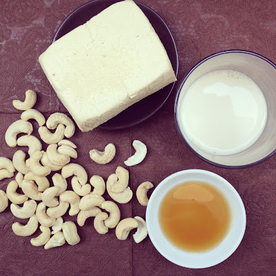 Pâte tofu noix de cajou