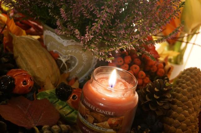 Home Sweet Home - zapach Yankee Candle na jesienne wieczory