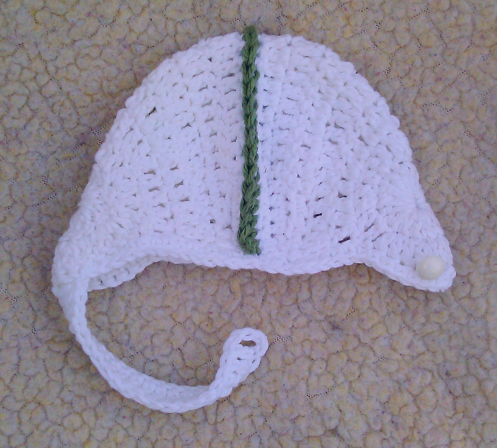 Breezybot free pattern baby crochet football helmet repeat above to make second side bankloansurffo Choice Image