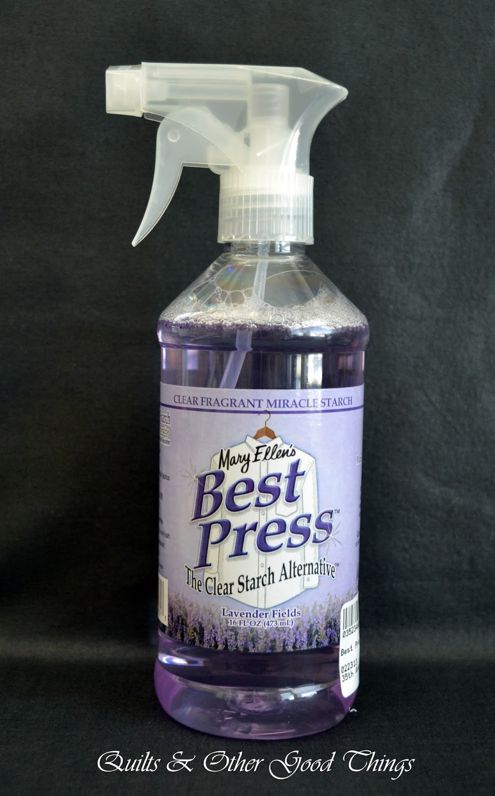 Quilts and Other Good Things: Does it Work? Best Press : best spray starch for quilting - Adamdwight.com