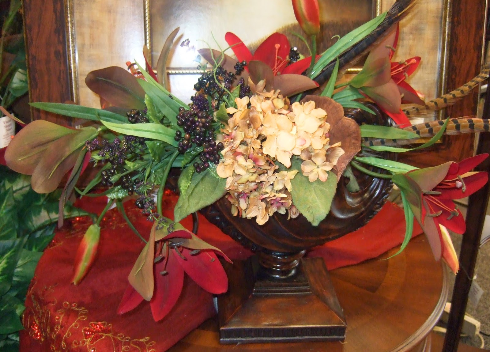 Ana Silk Flowers How to make Store Silk Flowers Arrangements Displays
