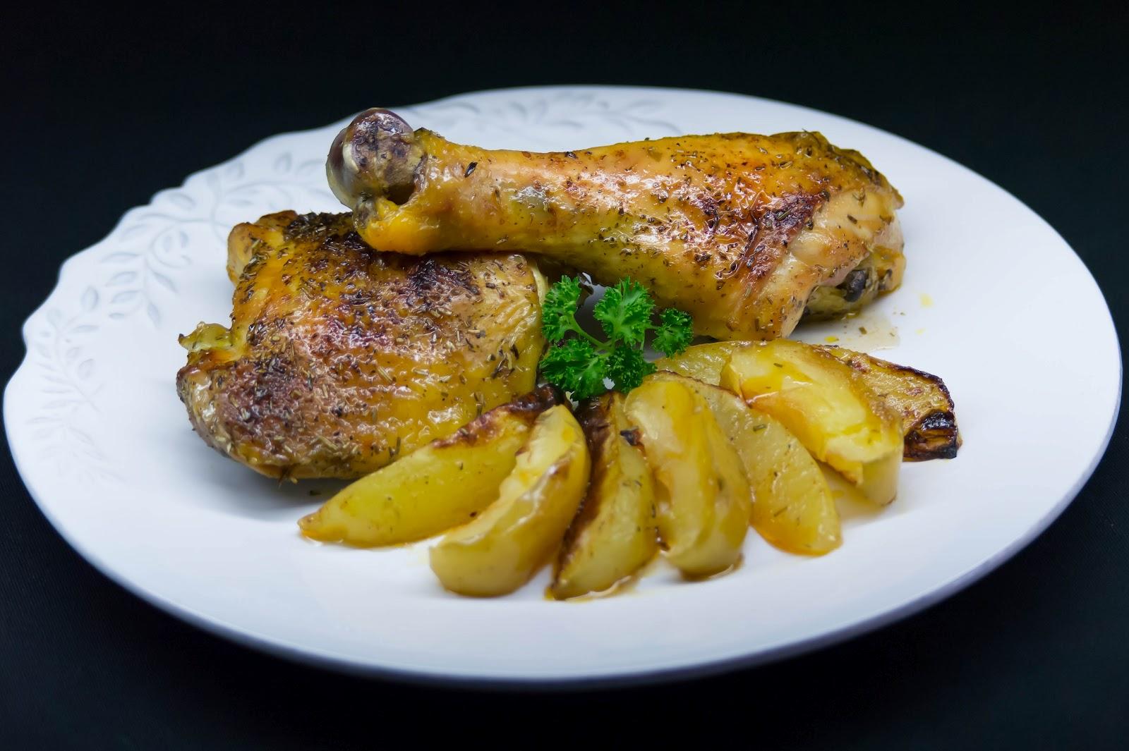 El que no mata engreixa pollo de corral asado con for Cocinar un pollo entero
