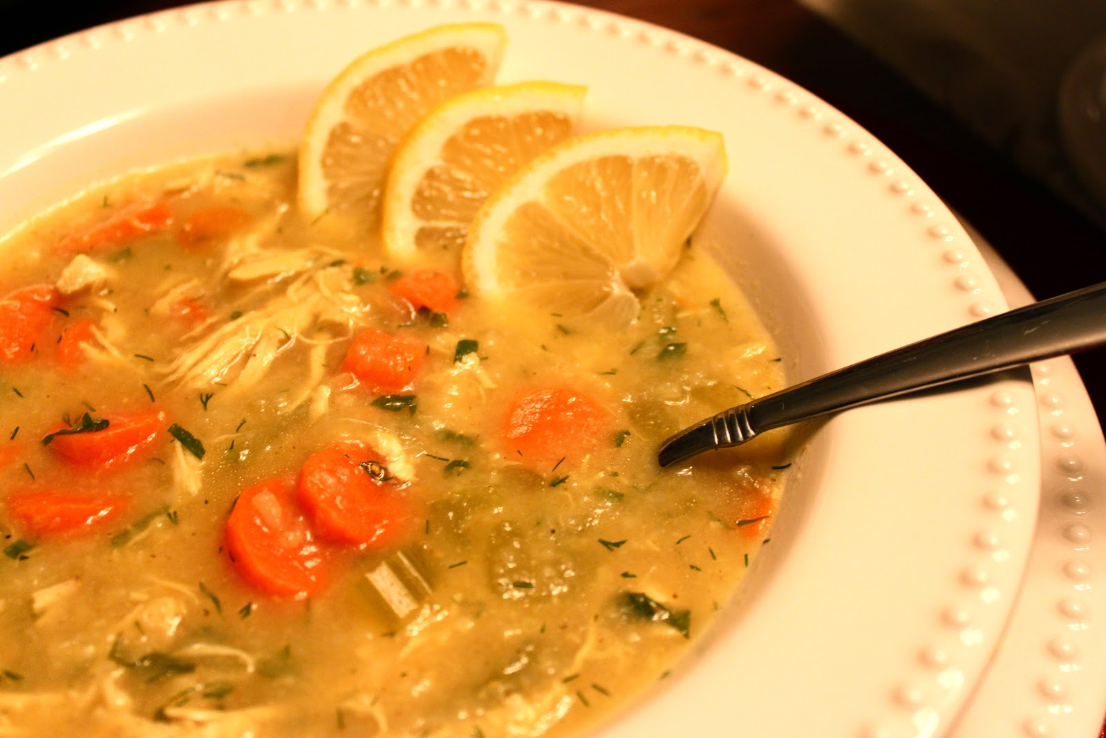 Explore Love Eat: Curried Chicken and Rice Soup with Lemon