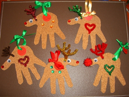 christmas crafts for kids to give as gifts