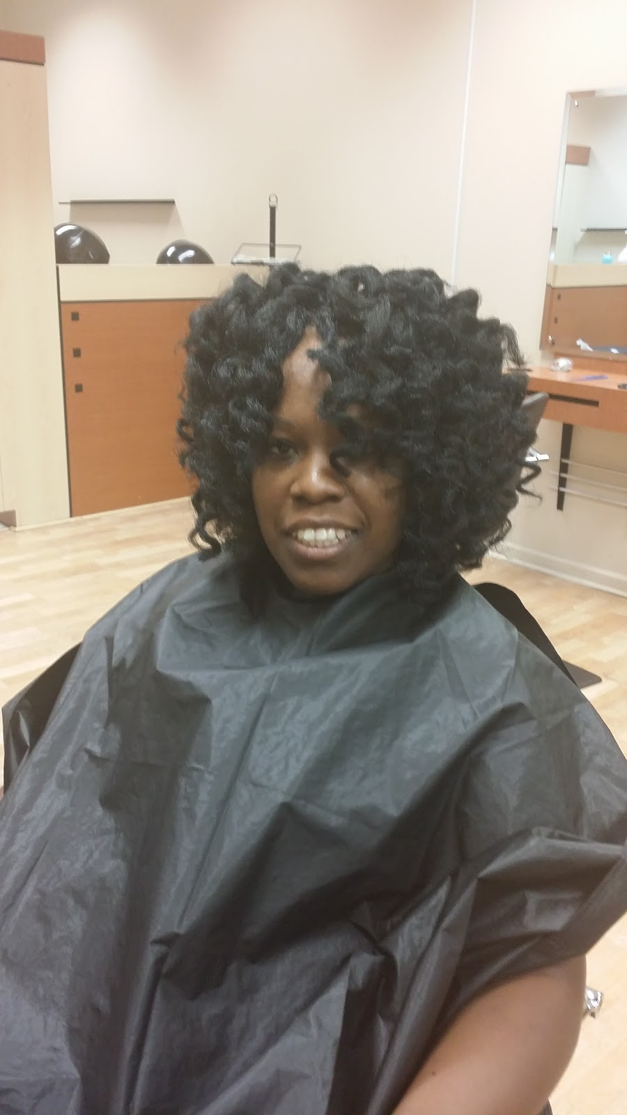 Crochet Braids Body Wave : Crochet Braids with a custom curl
