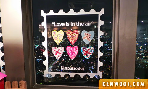 n seoul tower love