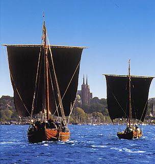 Судно викингов в Роскилле (Roskilde)