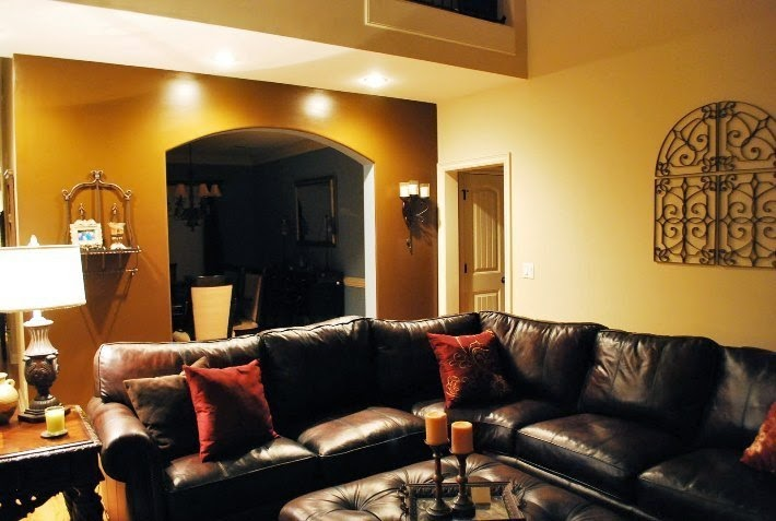 interior wall painting ideas accent wall. Black Bedroom Furniture Sets. Home Design Ideas