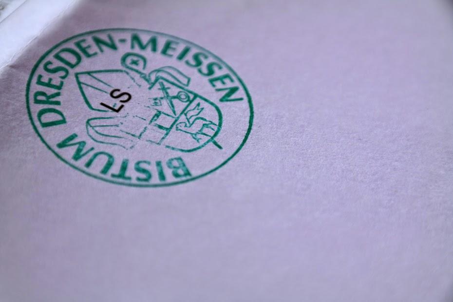 Dienstsiegel Bistum Dresden-Meißen
