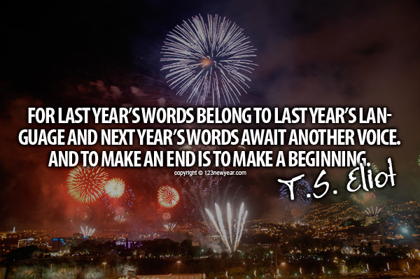 New Year Quotes # 9