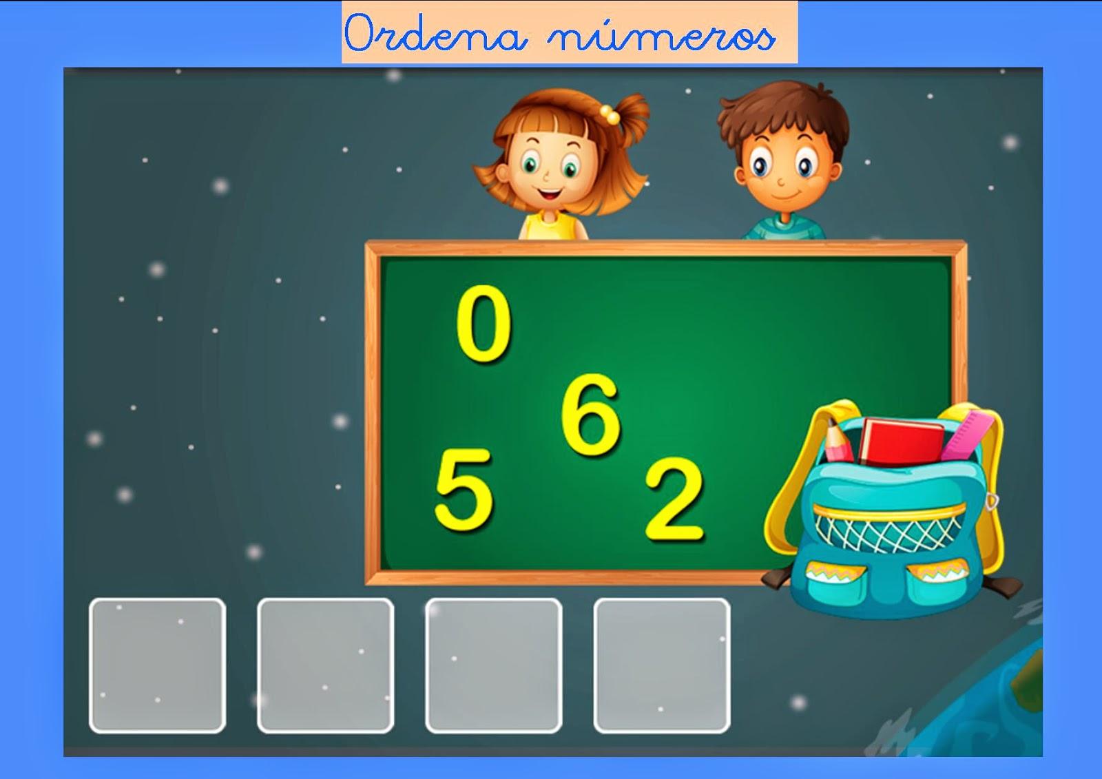 http://www.mundoprimaria.com/juegos/matematicas/numeros-operaciones/1-primaria/392-juego-ordenar-numeros/index.php