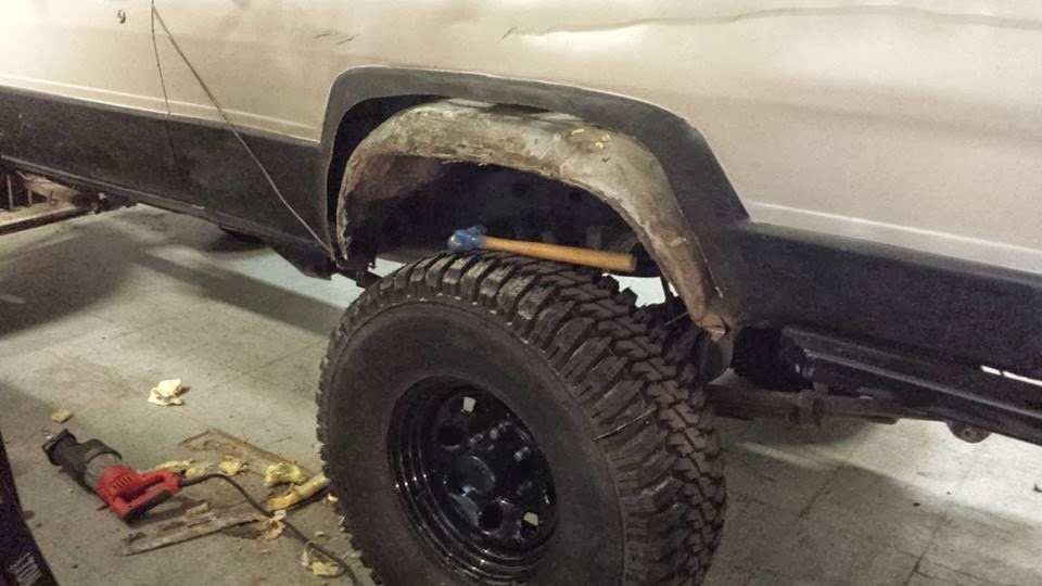 Used Toyota 4runner >> Fixing The Truck Again: Cutting Toyota Fenders Without Welding
