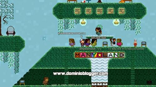 Juega a Manyland gratis al mejor estilo de Minecraft o Habbo hotel
