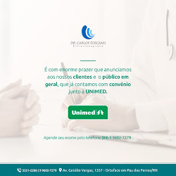 Dr. Carlos Toscano/Convênio Unimed
