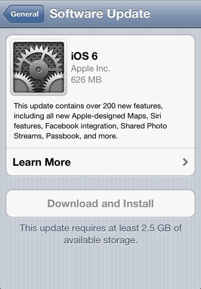 Cara Cepat Upgrade (Update) iOS 6 Di iPhone, iPad, iPod Touch | Info ...