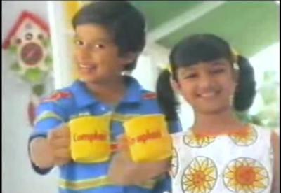 Shahid kapoor with Ayesha Takia Complan advertisement