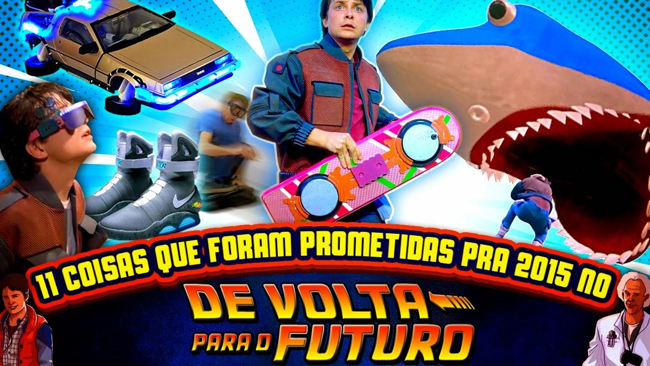 "11 Coisas que ""De Volta Para o Futuro"" prometeu para 2015"