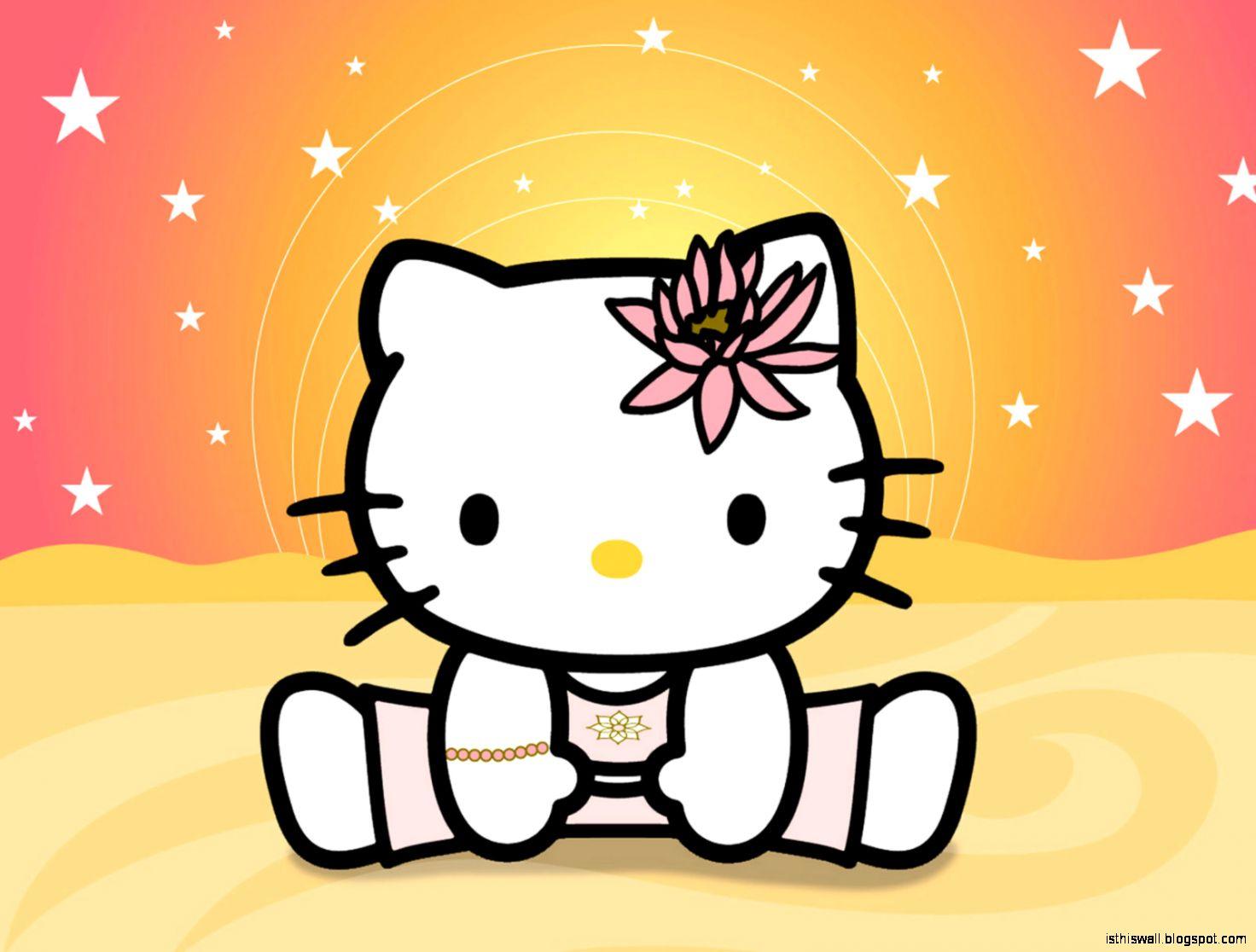 Hello Kitty Yoga