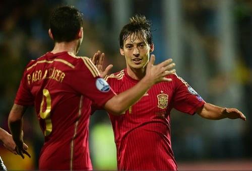 """Luxembourg - Tây Ban Nha: Diego Costa đã """"thông nòng"""""""