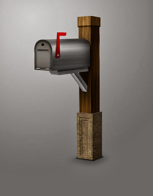3D Mailbox With Photoshop