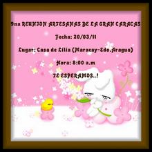 9na. REUNION DE ARTESANAS DE LA GRAN CARACAS