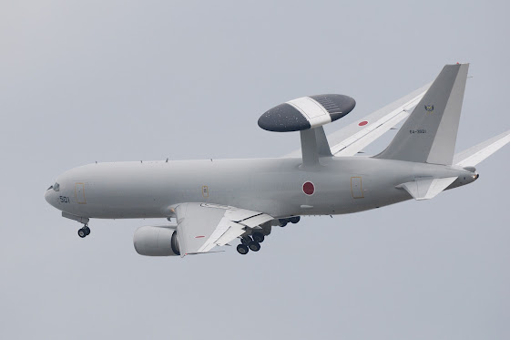 Boeing E-767 Airborne Warning and Control System (AWACS)