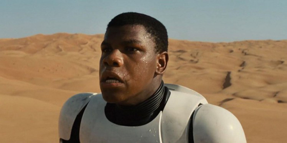 "John Boyega: Some Star Wars ""fans"" lost their minds when they discovered he was a star in the latest installment."
