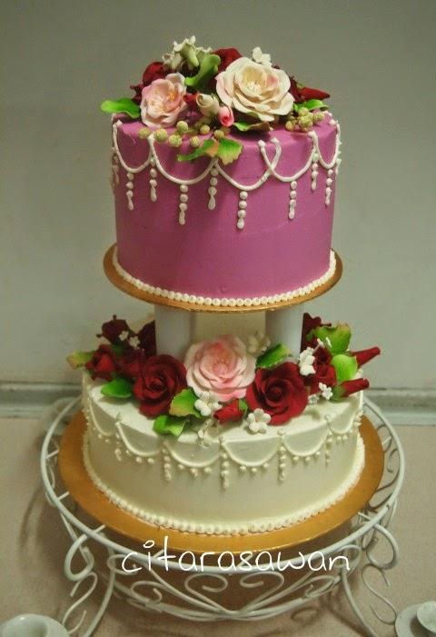 Kek Kahwin 2 Tingkat