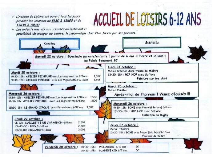 .Centre Social du Hameau - Pau: octobre 2011