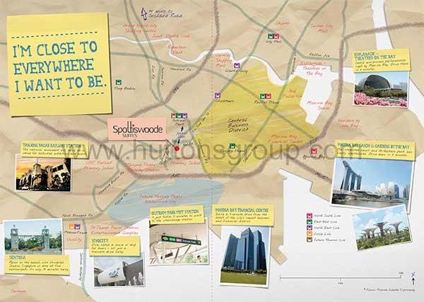 Spottiswoode Suites Location Map