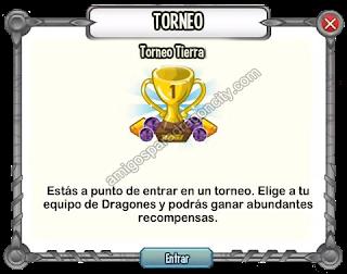imagen del torneo tierra de dragon city