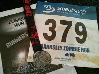 Zombie run UK