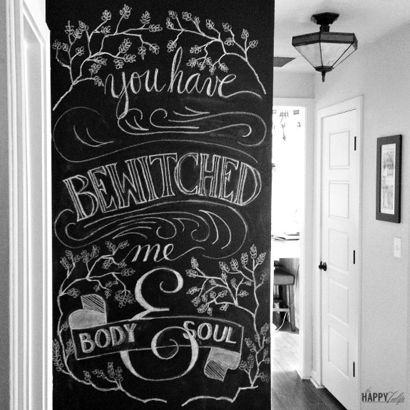 Chalk Lettering — tips, ideas, and techniques [part two] │ thehappytulip.com