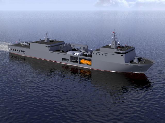 الجزائر تبني السفينة الشراعية  في بولونيا والتسليم في 2016 - صفحة 2 OWL_Baltyk_Logistic_Support_Ship_Remontowa_1