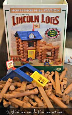 Lincoln Logs #KNEX