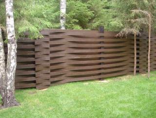 Деревянный забор. Фото 30