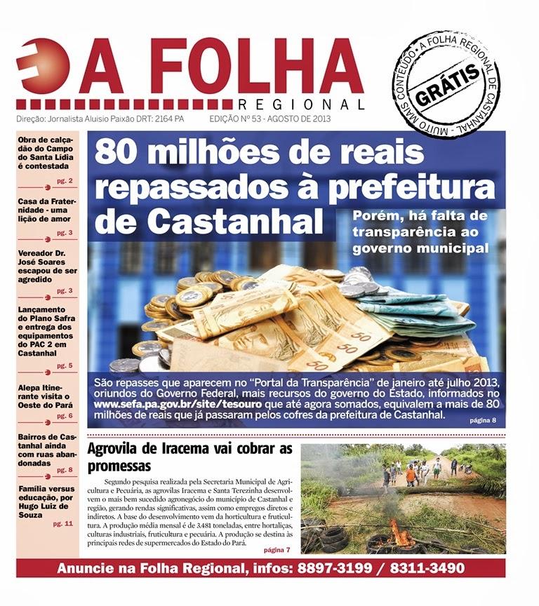 Jornal A Folha Regional - Castanhal