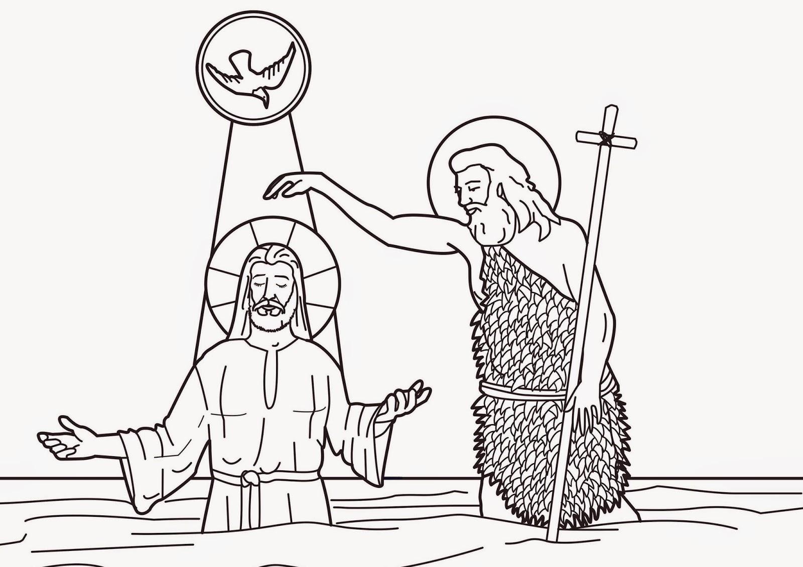 Colección de Gifs ®: JESUS DE NAZARET - PARA COLOREAR