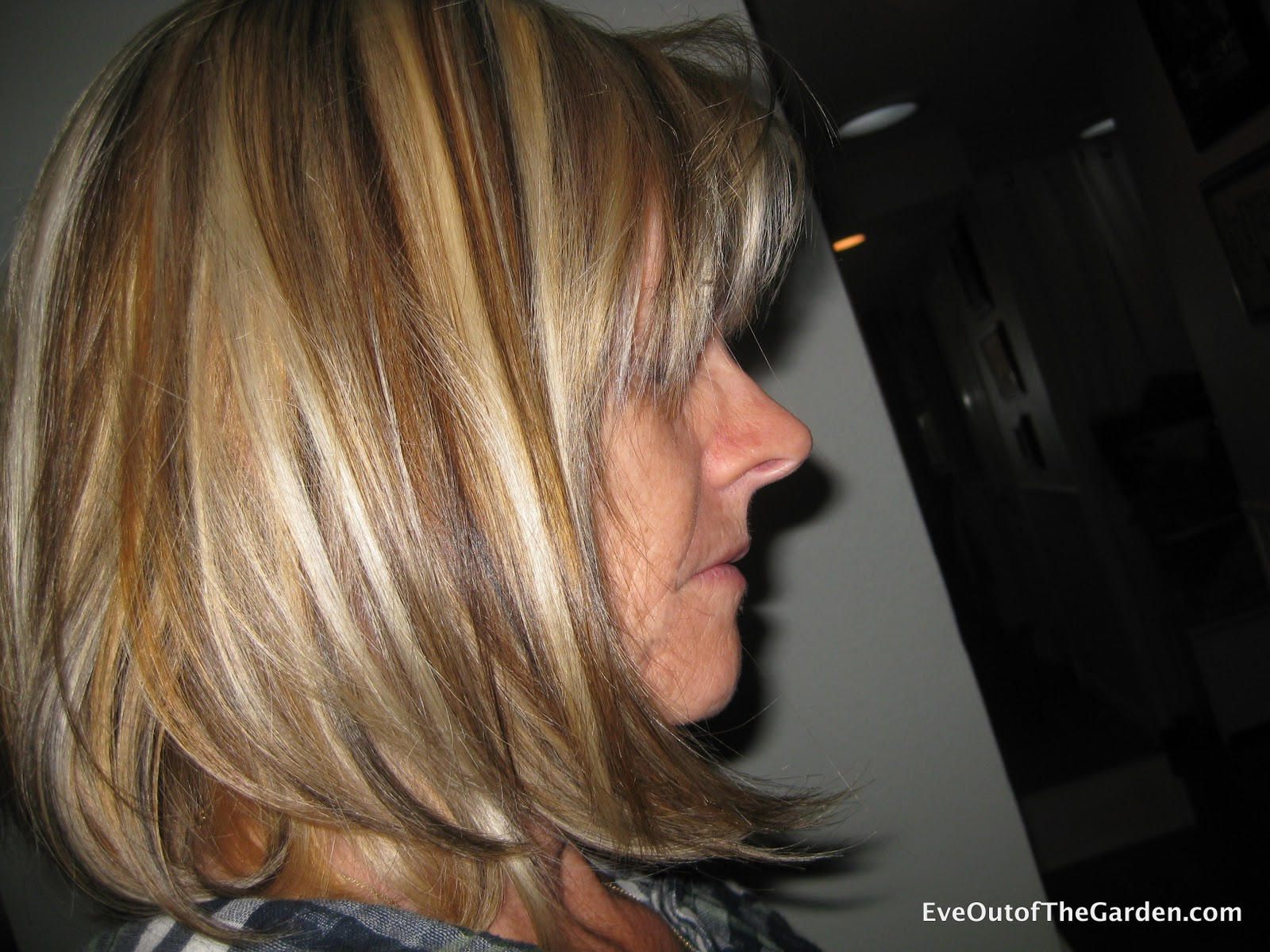 Blonde Highlights And Lowlights Eve Out Of The Garden