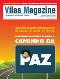 Vilas Magazine | Ed 154 | Novembro de 2011 | 28 mil exemplares