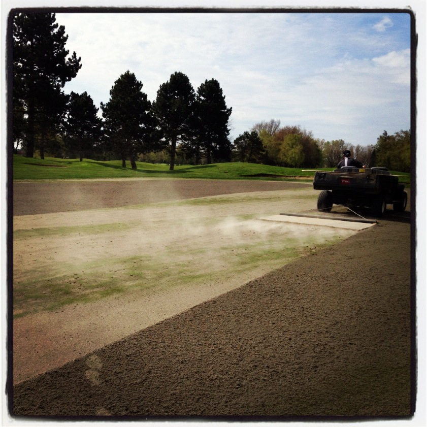 Mat Training Nh: Quilchena Golf Club Turf Care: Spring 2012 Aeration