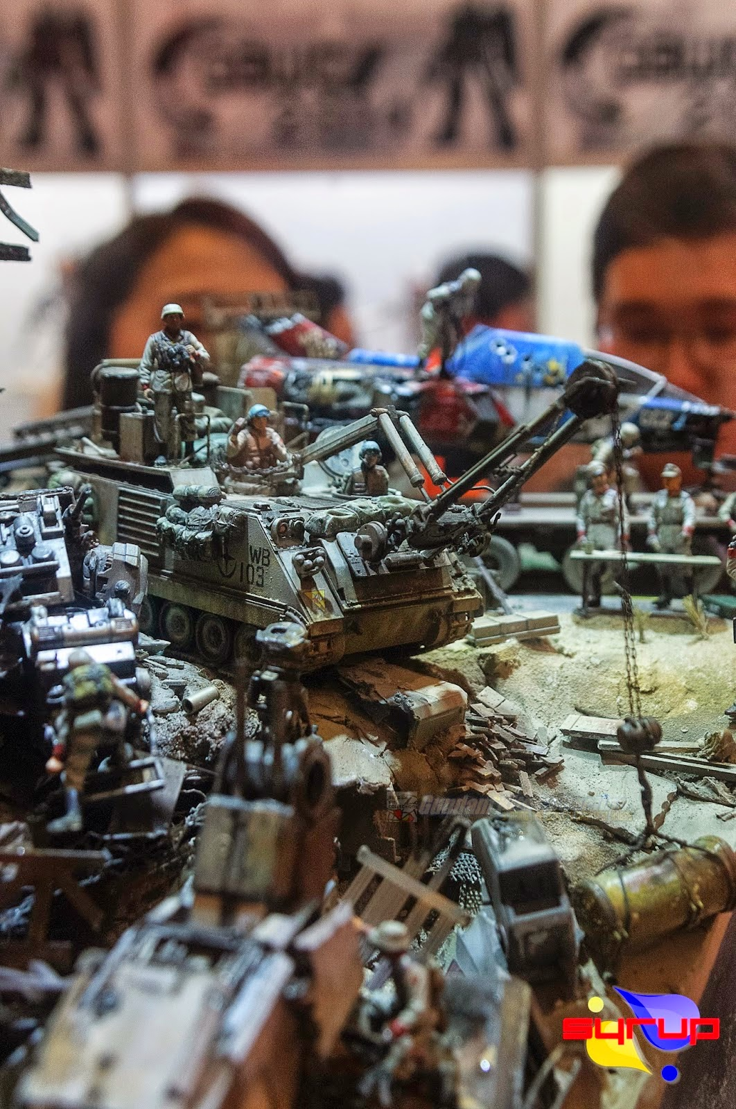 GBWC 2013 Korea Champions on Display at GunPla Expo 2014 Koreaphoto