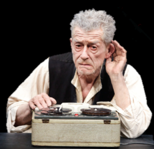 an analysis of samuel becketts krapps last tape A short samuel beckett biography  home → sparknotes → drama study guides → endgame → context endgame  he developed his work in krapp's last tape (1958.