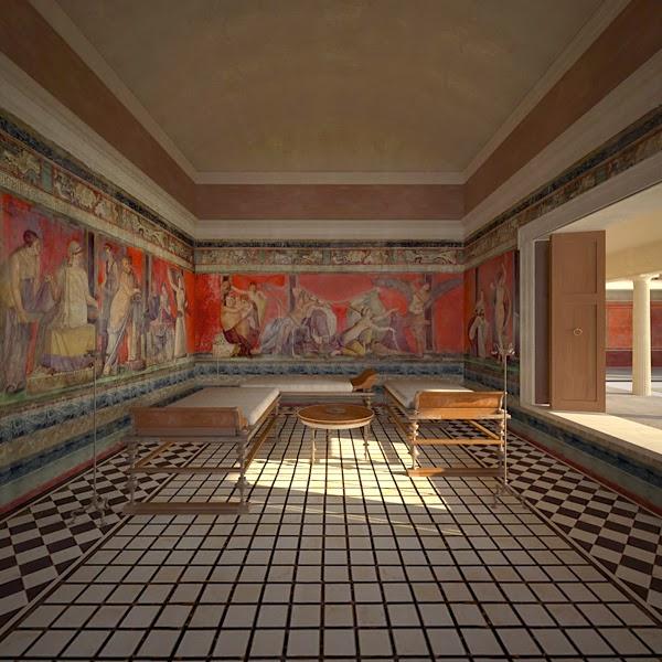 Roman Villa Service Rooms